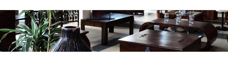 Kolonialne stoliki kawowe